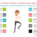 Jak se zbavit stresu, i během jedné minuty